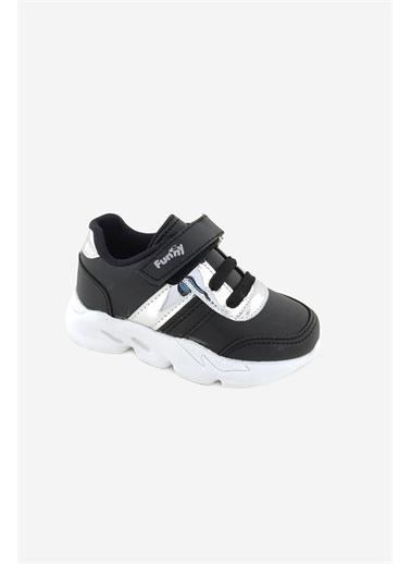 Necix's Funny Bebek Cırtcıtlı Spor Ayakkabı-Siyah Funny Bebek Cırtcıtlı Spor Ayakkabı-Siyah Siyah
